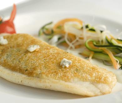 poisson sauce roquefort