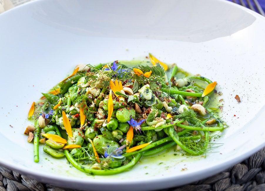 salade roquefort poire