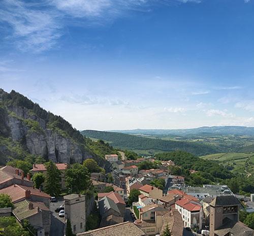 roquefort aveyron village