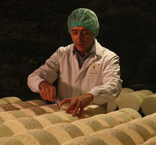 fromage pâte persillée