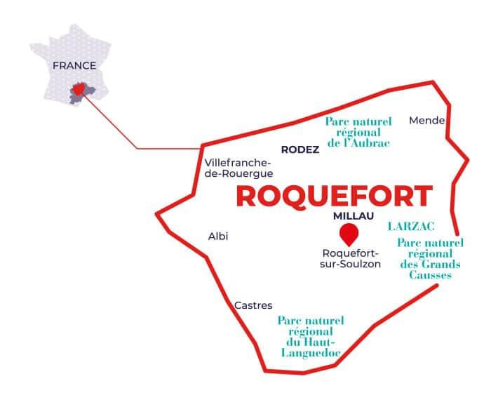 zone collecte roquefort